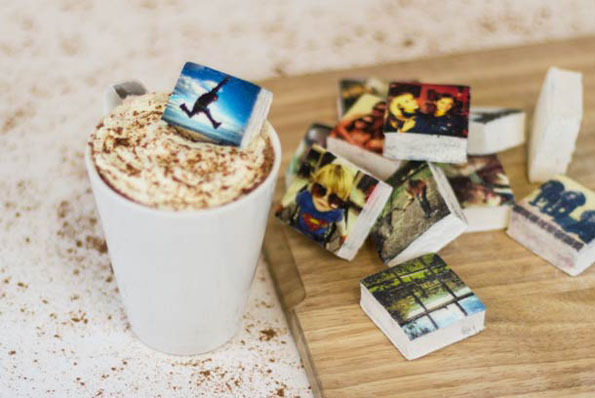 Instagram Photos Printed On Marshmallows