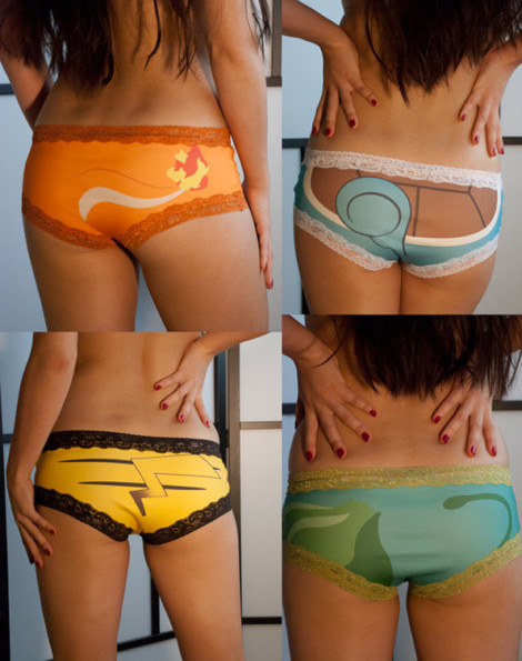 Cute Pokemon Undies