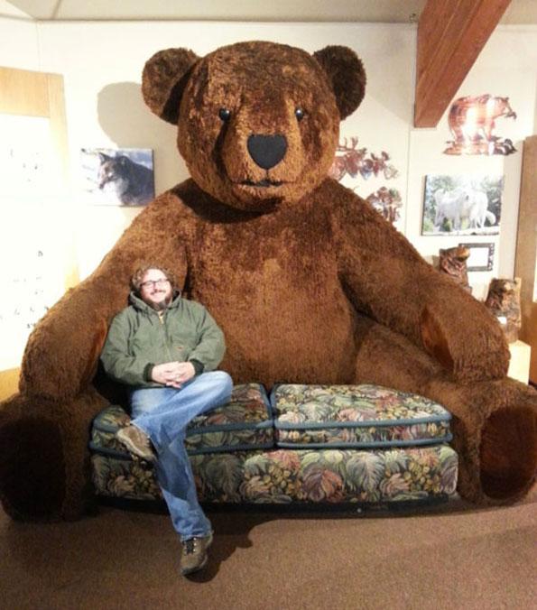 Giant Teddy Bear Sofa