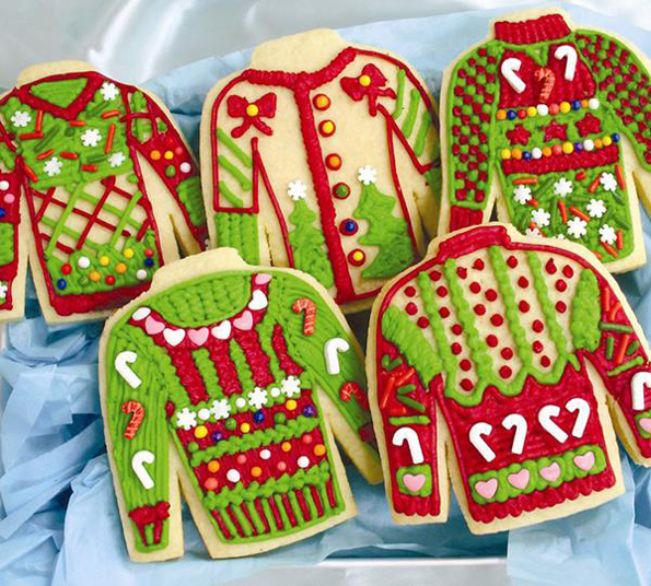 Buy Xmas Decorated Biscuits