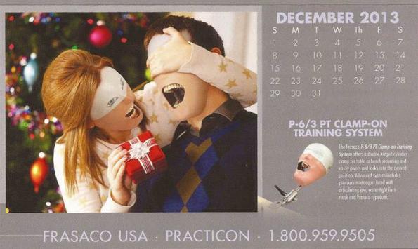 This Dental Practice Training Calendar Will Cause Nightmares