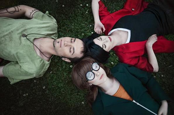 Daria, Jane and Trent IRL!