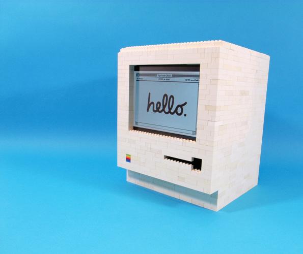 Macintosh LEGO iPad | Incredible Things