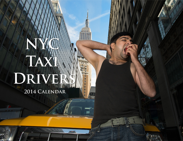 Funny NYC Taxi Drivers Beefcake Calendar