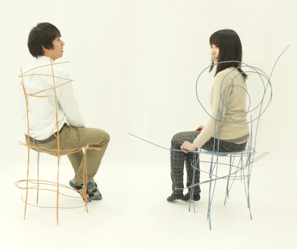 These Scribbles Are Actually Furniture