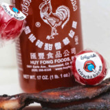 Bacon-Sriracha Lollipops
