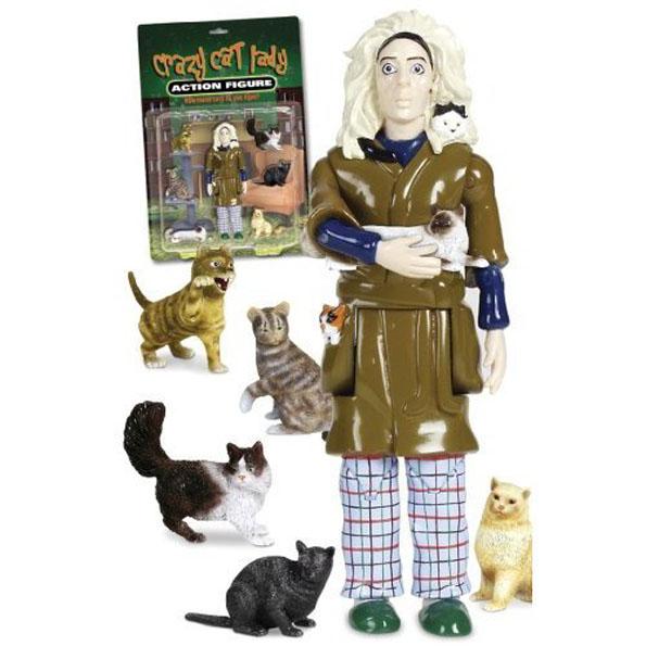 Cat Lady Action Figure