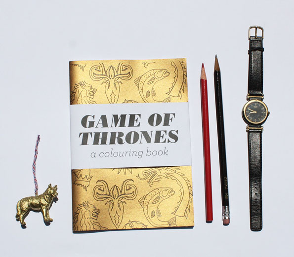 Game of Thrones Coloring Book | Incredible Things