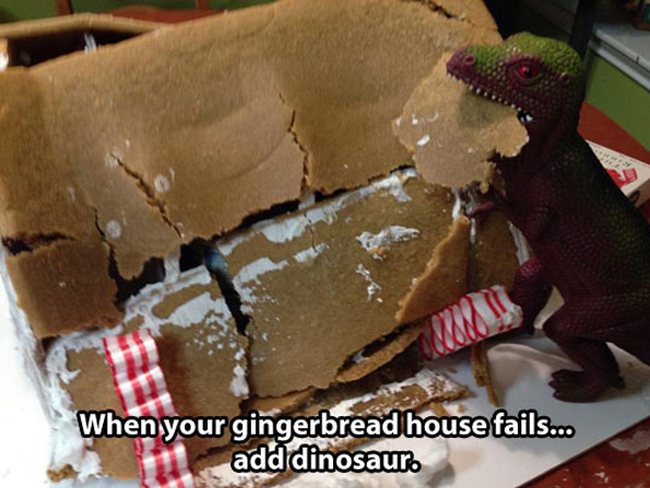 That Time A Dinosaur Saved Christmas