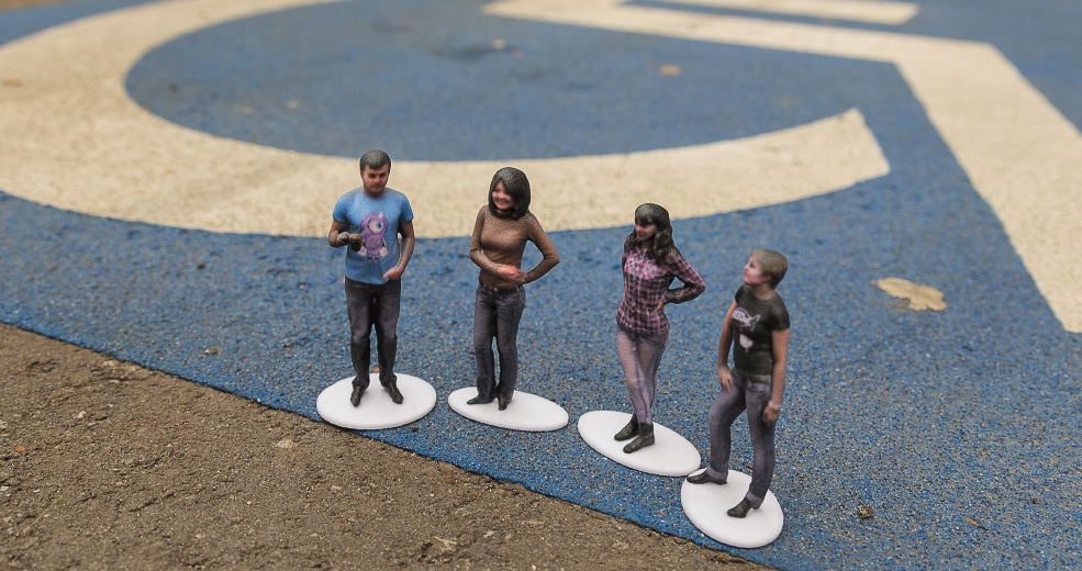 Get A Tiny 3D Version Of Yourself