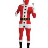 Spandex Santa Suit
