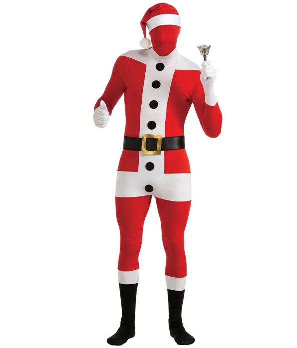 Freaky Deaky Spandex Santa Suit