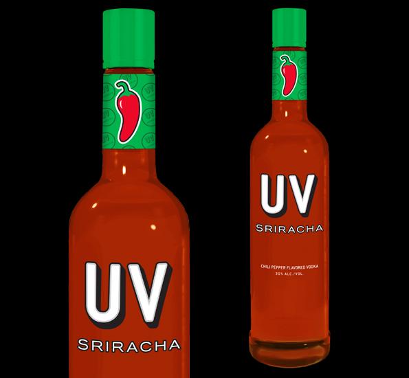 Sriracha Flavored Vodka