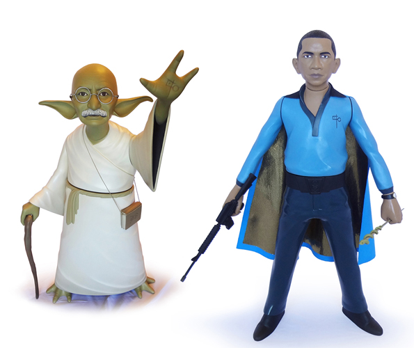 Famous People as Star Wars Characters