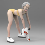 Twerking Miley Einstein