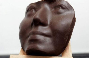 3D Printed Chocolate Mold Of Your Face