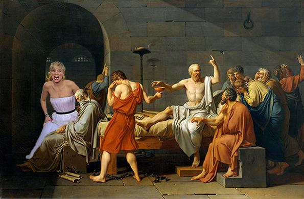 Jennifer Lawrence Time Travels to Photobomb Historical Moments