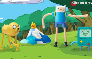 Adventure Time Happy Meal Toys