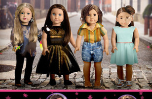 Girls As American Girl Dolls