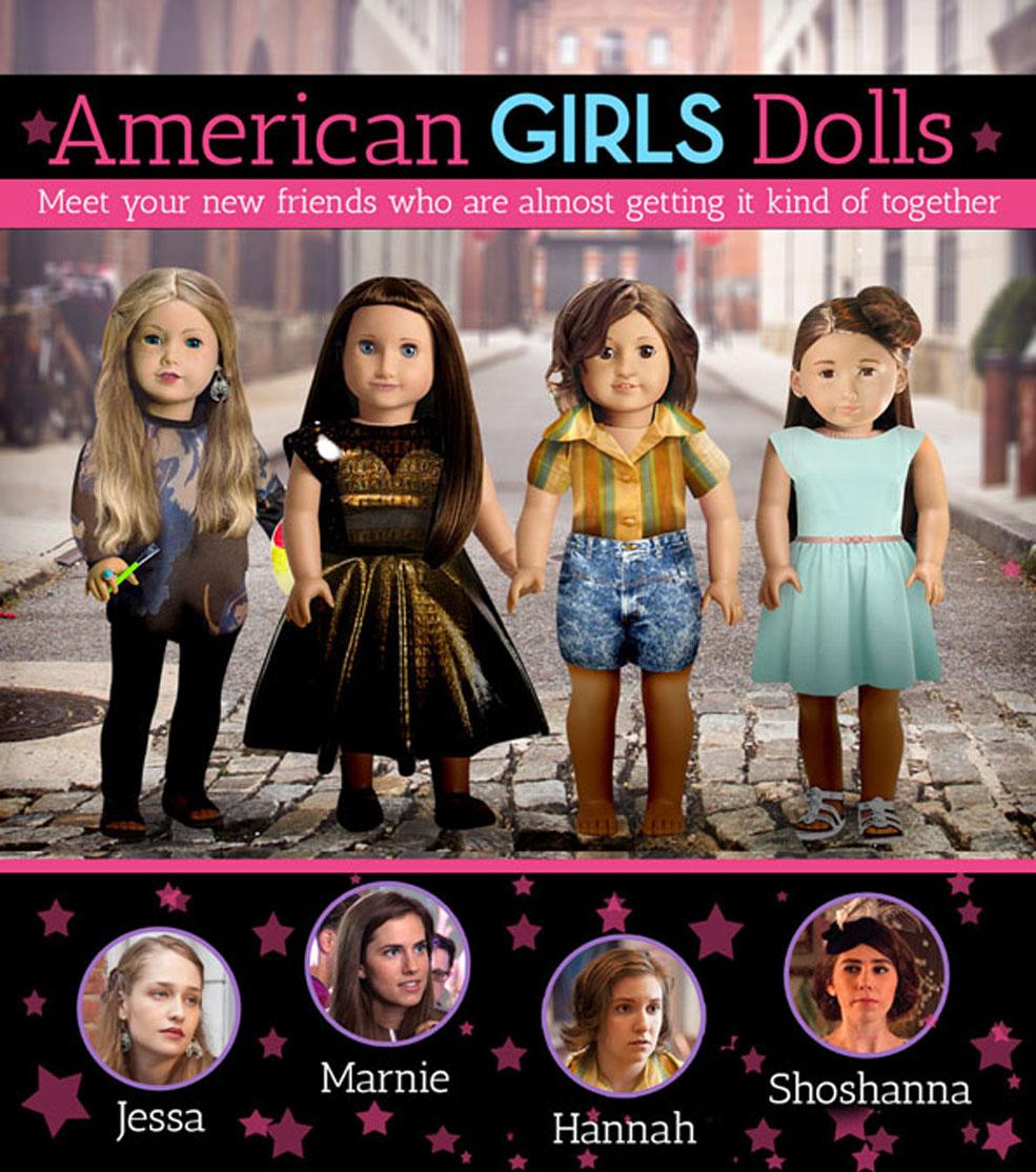 Girls As American Girl Dolls
