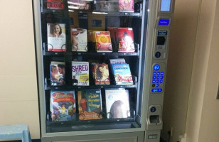 Vending Machines With Books Instead of Junk Food