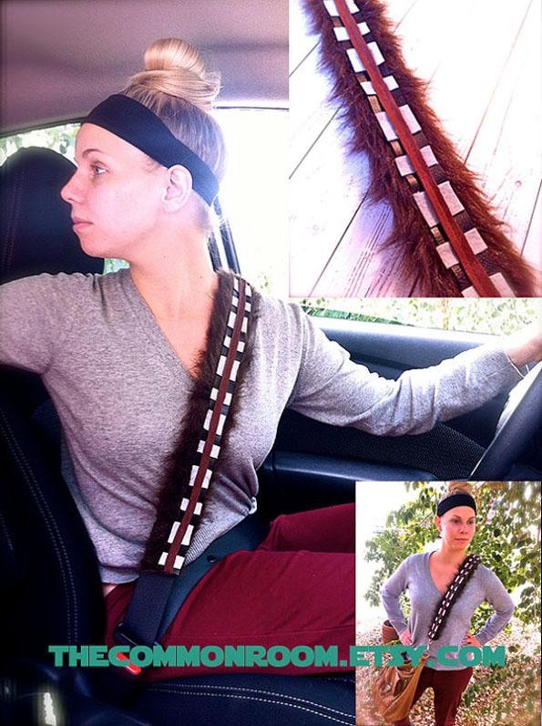 Chewbaccca Seat Belt Cover
