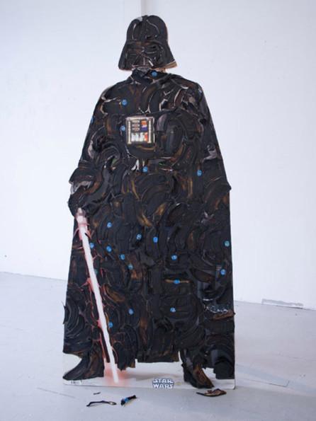 Vader Made Of Rotten Banana Peels