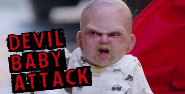Terrifying Devil Baby Prank
