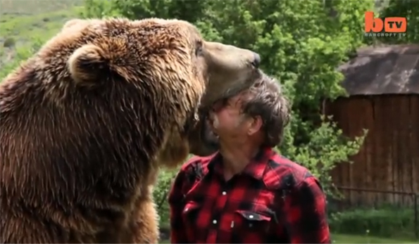 Watch This Guy Get Mauled by a Bear… with Love