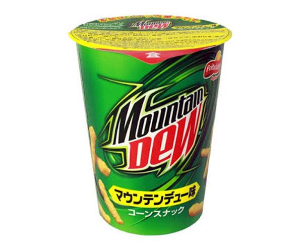 Mountain Dew Flavored Cheetos