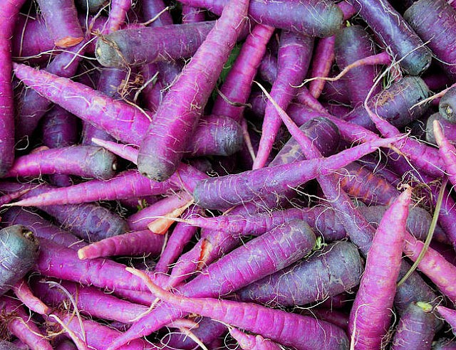 WTF Purple Carrots?!  ...