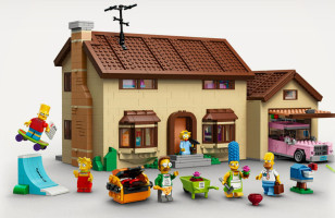 The Simpsons LEGO Set