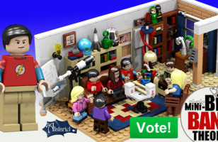 Big Bang Theory LEGO Set