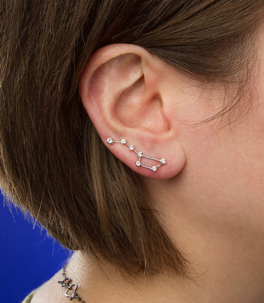 Hearing Stars With Constellation Earrings