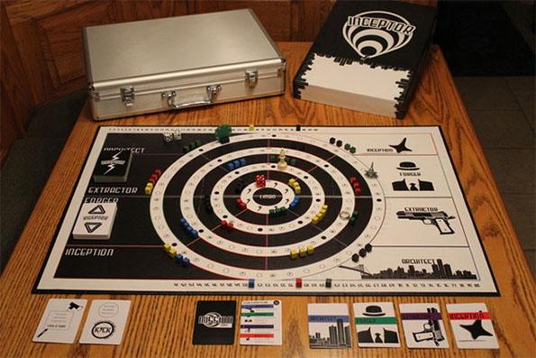 Inception Board Game: Board Game Inside A Board Game