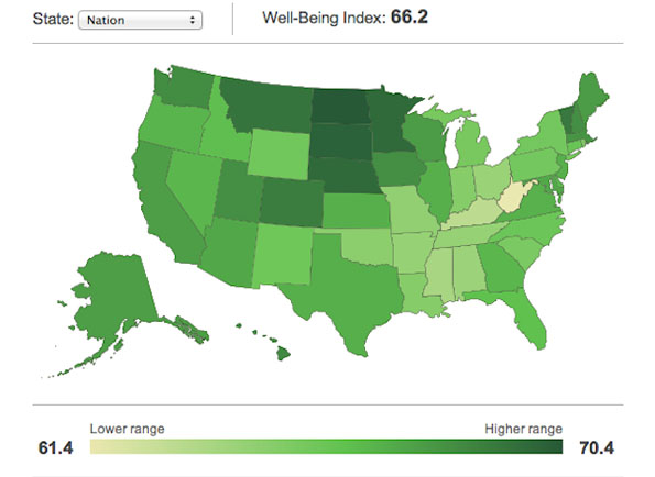 How Happy Is Your State?