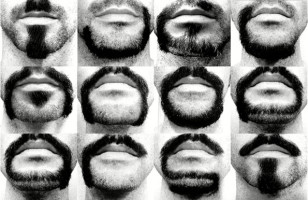 A Man Grows Alphabet With Beard