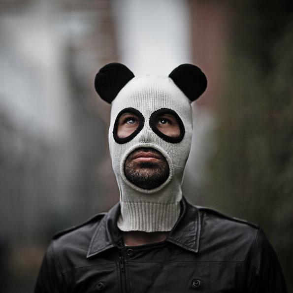 Panda Face Mask