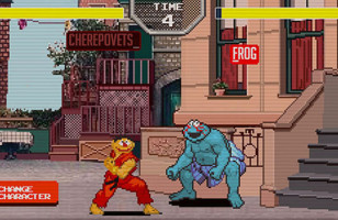 Sesame Street Fighter