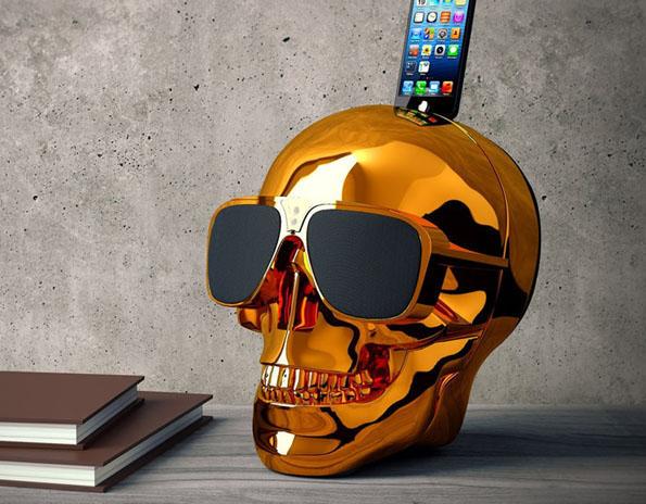 Bad-Ass Skull Speakers