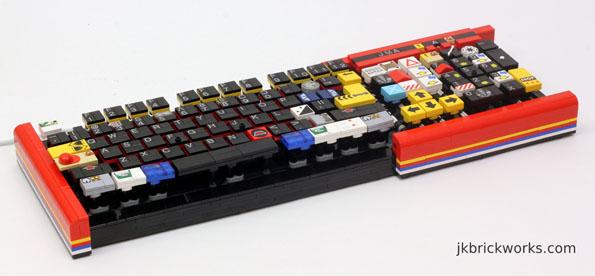 Fully Functional LEGO Keyboard