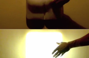 A Butt Lamp That Lights Up When You Spank It