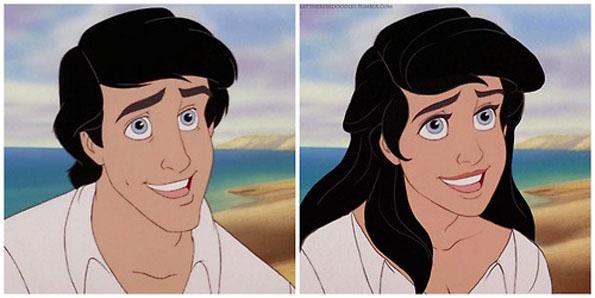 Disney Princes As Women