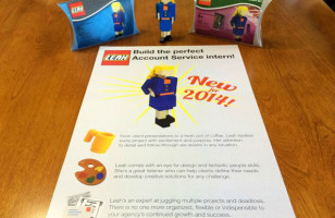 Woman Creates LEGO Résumé To Land Advertising Job