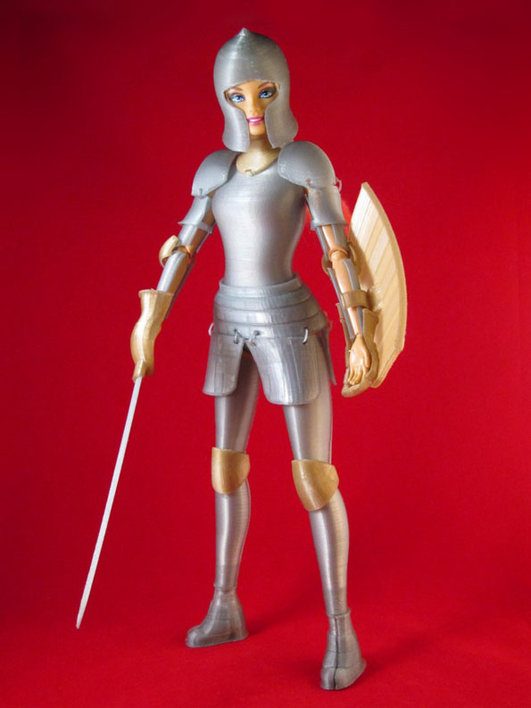 Slay Dragons With Medieval Barbie