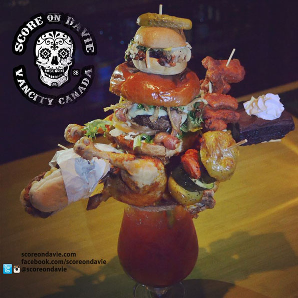 Bloody Mary Contains An Entire Chicken