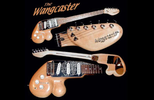 The Wangcaster Penis Guitar