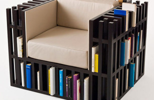 The Bookshelf Chair Is Clever, Convenient