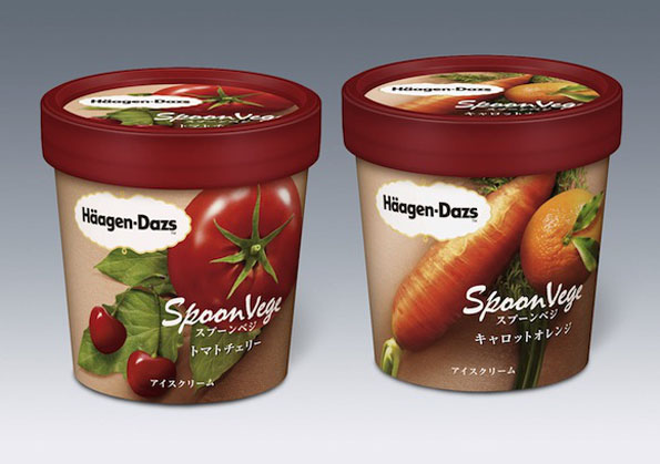 Coming Soon: Veggie Flavored Ice Creams