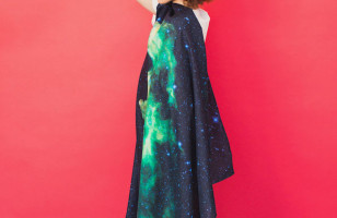 Scarves Printed With Hubble Telescope Images